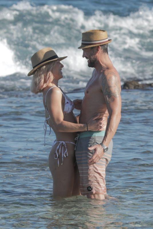 SHARNA BURGESS and Brian Austin Green at a Beach in Hawaii 01/02/2021