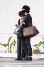 SHARON and AIMEE OSBOURNE Shopping at Saks Fifth Avenue in Beverly Hills 01/24/2021