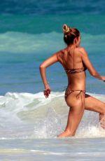 SHAYNA TYALOR in Bikini on the Beach in Mexico 01/14/2021