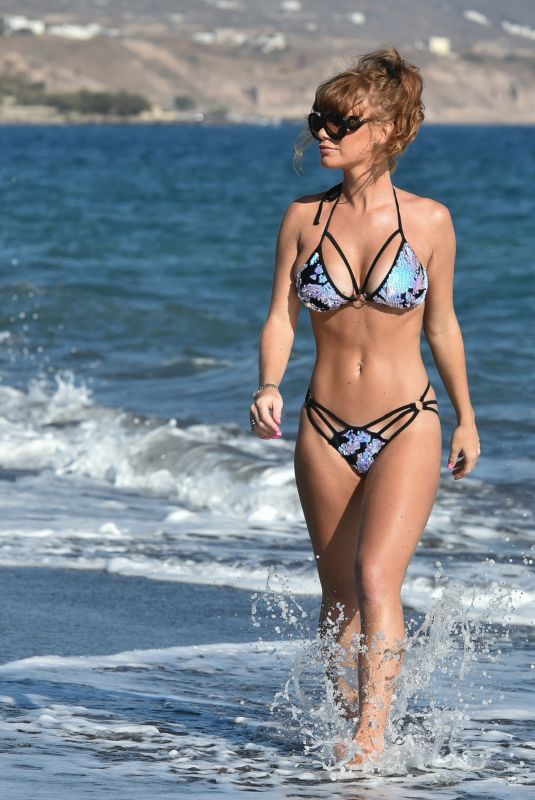 SUMMER MONTEYS-FULLAM in Bikini at a Beach in Tenerife 01/16/2021