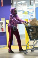 TARAJI P. HENSON Out Shopping in Los Angeles 01/24/2021