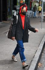 TESSA THOMPSON Out Shopping at Bondi in Sydney 01/27/2021