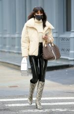 TORI MONET Out Shopping in New York 01/21/2021