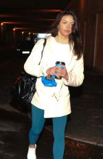 VANESSA BAUER Arrives at Dancing On Ice Rehersal in Blackpool 01/21/2021