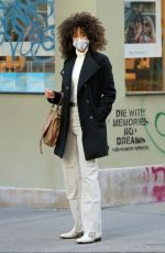 VICTORIA SEABROOKS Out Shopping in New York 01/21/2021