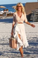 VICTORIA SILVSTEDT Out at a Beach in Miami 01/22/2021