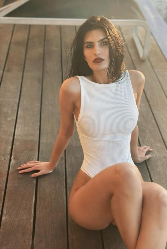 YAEL COHEN in a White Swimsuit – Instagram Photos 01/08/2021