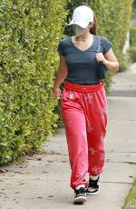 ADDISON RAE Arrives at Private Pilates Class in Los Angeles 02/08/2021