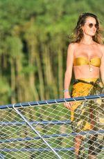 ALESSANDRA AMBROSIO in Bikini at a Yacht in Florianopolis 02/19/2021