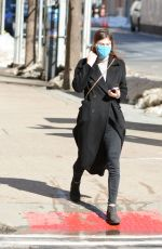 ALEXANDRA DADDARIO Out and About in New York 02/08/2021