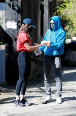 ALISON BRIE and Dave Franco Out in Los Feliz 02/28/2021