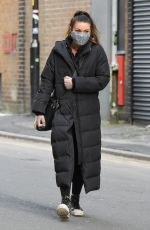 ALISON KING Out and About in Manchester 02/01/2021