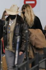 AMBER HEARD and BIANCA BUTTI at LAX Airport in Los Angeles 02/20/2021