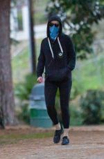 AMBER HEARD Out at Griffith Park in Los Angeles 01/31/2021