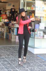AMBER MARTINEZ Shopping at Kitson in Hollywood 02/27/2021