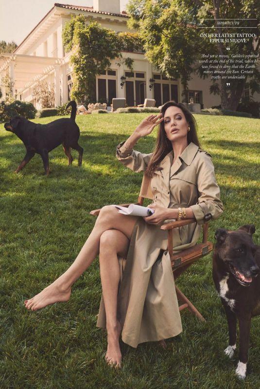ANGELINA JOLIE in Vogue Magazine, UK March 2021