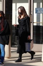 ANGELINA JOLIE Out and About in Thousand Oaks 02/06/2021