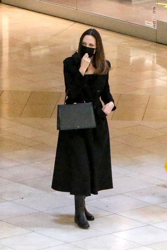 ANGELINA JOLIE Out Shopping in Los Angeles 02/06/2021