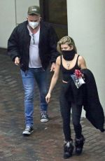ANNALYNNE MCCORD and Dominic Purcell Out in Vancouver 02/21/2021