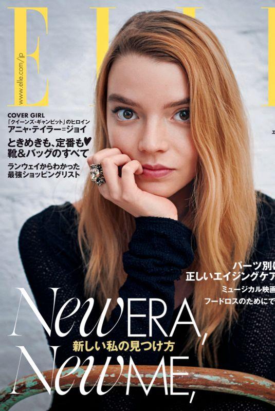 ANYA TAYLOR-JOY for Elle Magazine, Japan March 2021