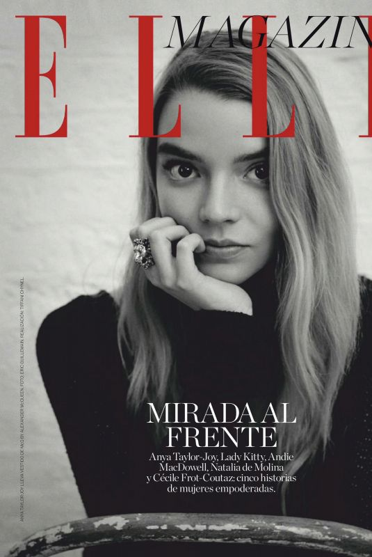 ANYA TAYLOR-JOY in Elle Magazine, Spain March 2021
