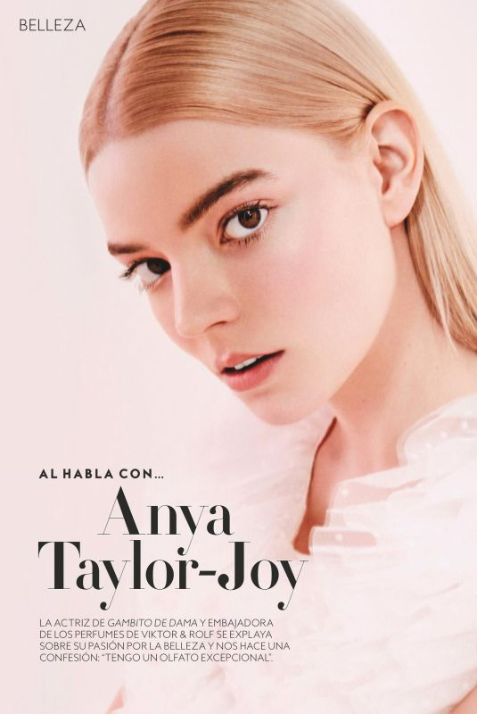 ANYA TAYLOR-JOY in Instyle Magazine, Spain March 2021