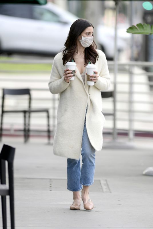ASHLEY GREENE Out for Coffee in Los Angeles 02/03/2021 | celebrityparadise – hollywood , celebrities , babes & more