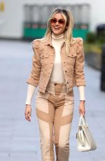ASHLEY ROBERTS Leaves Heart Radio in London 02/23/2021