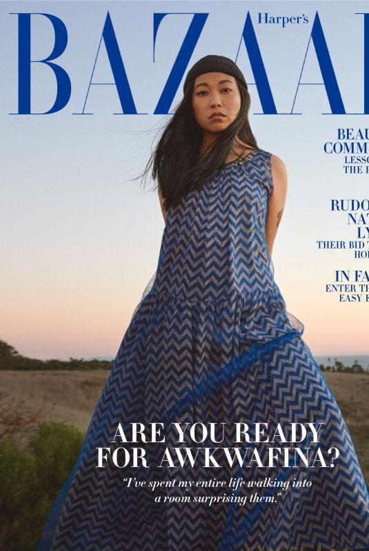 AWKWAFINA in Harper's Bazaar Magazine, February 2021