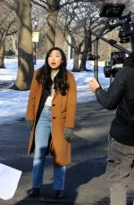 AWKWAFINA on the Set of Awkwafina is Nora from Queens 02/24/2021