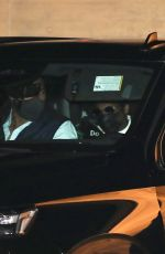 BEYONCE and Jay-Z Out for Dinner at Nobu in Malibu 02/07/2021