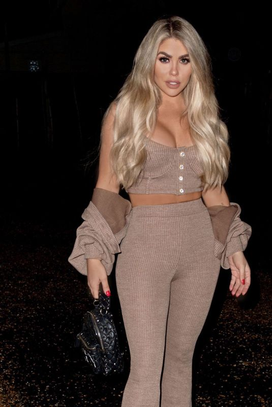 BIANCA GASCOIGNE Night Out in London 02/17/2021