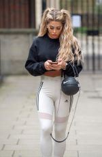 BIANCA GASCOIGNE Out and About in London 02/15/2021