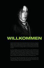 BILLIA EILISH in Fanbook Magazine, Germany January 2021