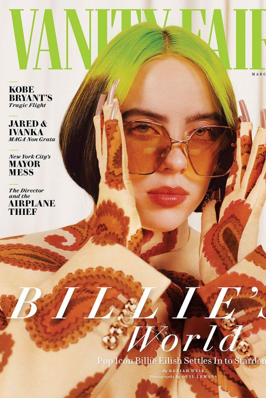 BILLIE EILISH for Vanity Fair Magazine, March 2021