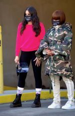 BLAC CHYNA and BELLA BASKIN Out in New York 01/31/2021
