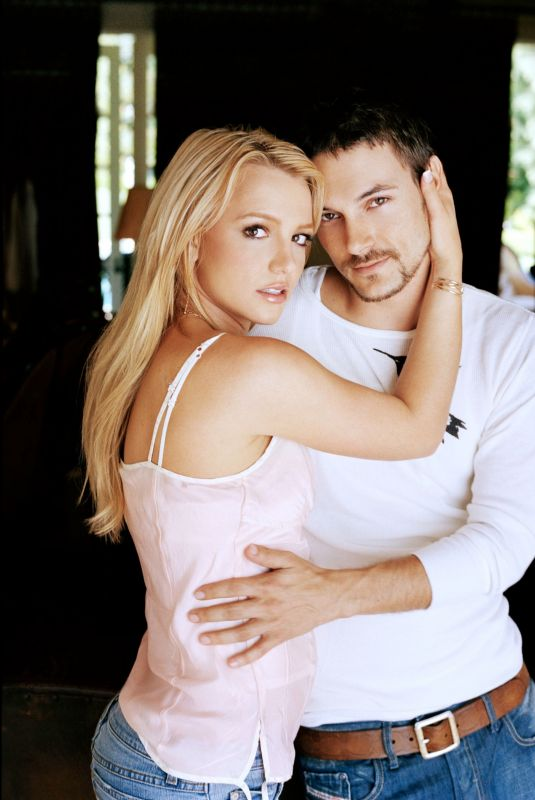 BRITNEY SPEARS and Kevin Federline for People Magazine, June 2004