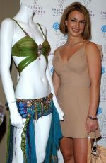 BRITNEY SPEARS at Britney Spears Foundation for Children Auction in New York 05/22/2003