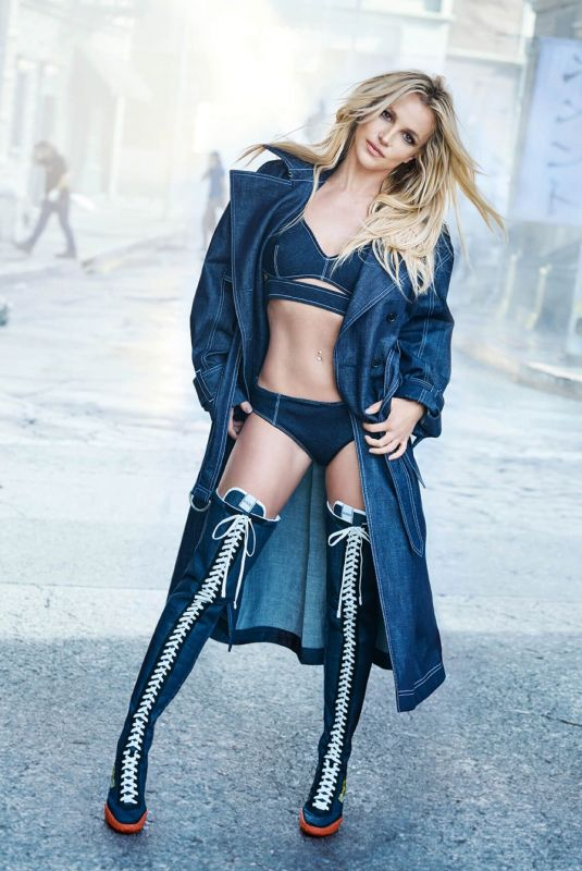BRITNEY SPEARS for Kenzo, 2018 Campaign