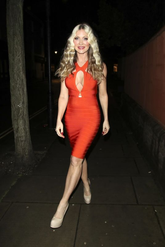 CAPRICE BOURRET Night Out in London 02/05/2021