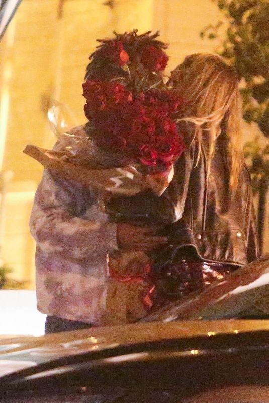 CARA DELEVINGNE and Jaden Smith Out Kissing on Valentine's Day in West Hollywood 02/14/2021