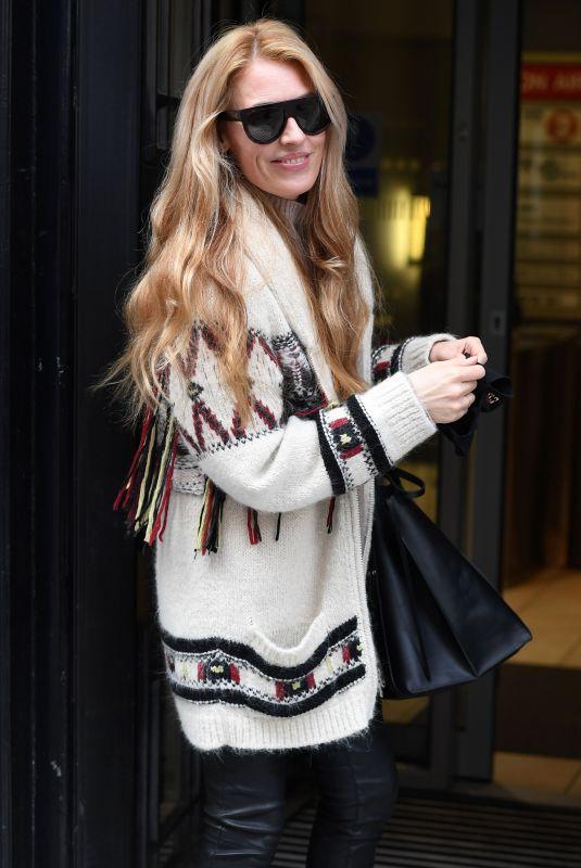 CAT DEELEY Arrives at BBC Studio in London 02/05/2021