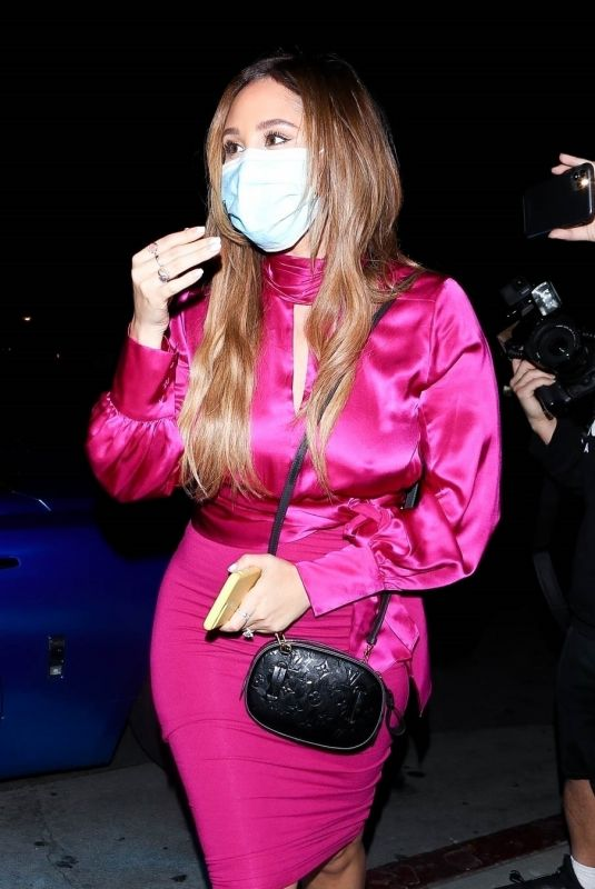 CATHERINE PAIZ at BOA Steakhouse in West Hollywood 02/12/2021