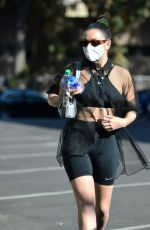CHARLI CXC Hheading to a Sance Studio in Los Angeles 02/26/2021