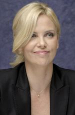 CHARLIZE THERON at The Road Press Conference 11/07/2009