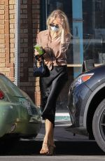 CHARLOTTE MCKINNEY Out and About in Santa Monica 02/02/2021