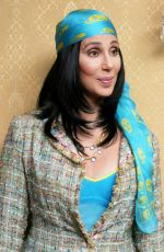CHER at Stuck on You Press Conference 11/19/2003