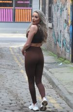CHLOE CROWHURST in Tights Out in Manchester 02/07/2021