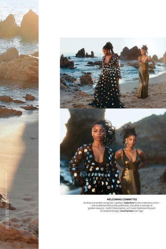 CHLOE X HALLE in Vogue Magazine, March 2021