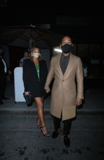 CHRISSY TEIGEN and John Legend at Sapgos Restaurant in Los Angeles 02/01/2021